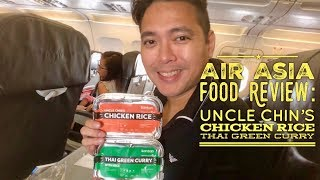 Air Asia Food Review: Uncle Chin's Chicken Rice Thai Green Curry Manila - Tagbilaran