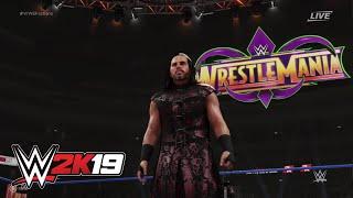 """WWE 2K19 entrance mashup: """"Woken"""" Matt Hardy as Bray Wyatt"""