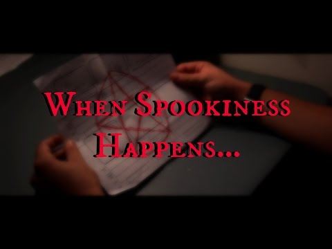 When Spookiness Happens... (Micro Movie)