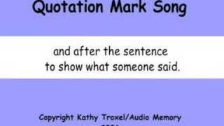 Quotation Mark Song