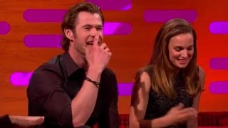 Natalie Portman & Chris Hemsworth - The Graham Norton Show 2013.