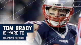 Tom Brady Leads Impressive 90-yard TD Drive!   Texans vs. Patriots   NFL Divisional Highlights