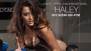 Calendar Girl Haley Photo Shoot April 2015 - MotoUSA