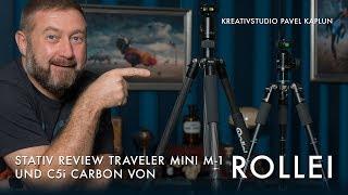 Rollei Stativ Review: Traveler Mini M-1 & C5i Carbon