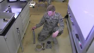 CE371 USMA Lab 5 Proctor Compaction Testing