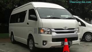 Dịch Vụ Thuê Xe Du Lịch 16 Chỗ Toyota Hiace