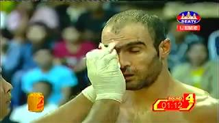 Sor Reachsey, Cambodia Vs Aboofazel, Iran, Khmer Warrior Seatv Boxing 16 September 2018