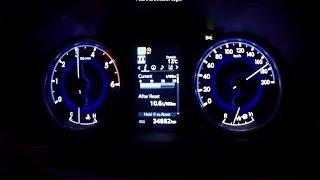 Toyota Hilux 2.4 D-4D 150 hp acceleration 0-100 km/h, 0-180 km/h, 0-400 m, racelogic