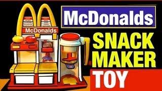 McDonalds Toys Hamburger Maker Playset Vintage McDonald