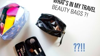 Holiday Beauty Bags || The Very French Girl