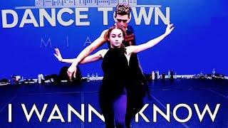 I Wanna Know - NOTD feat Bea Miller | Brian Friedman Choreography | Dancetown Miami