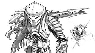 AVP Predator Armor Weapons Concepts ALIENS VS PREDATOR ADI BTS