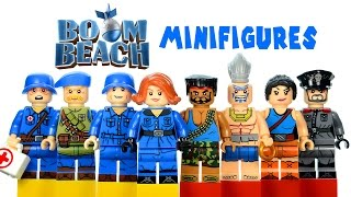 LEGO Boom Beach KnockOff Minifigures Set Review