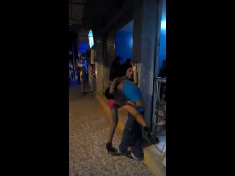 Travesti abusa de borracho parte 2