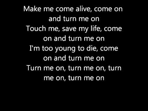 david guetta - turn me on Lyrics