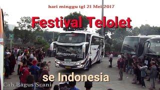 meriah!!! kontes TELOLET se Indonesia diTerminal PuloGebang