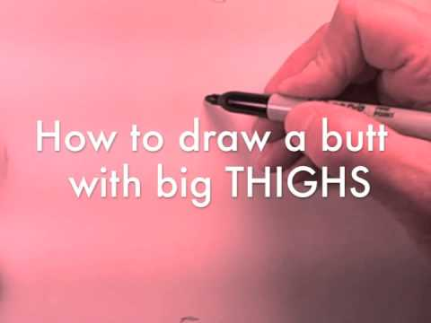 Xxx Mp4 How To Draw GREAT BUTTS With Just FIVE LINES 3gp Sex