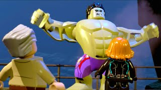 Lego Marvels Avengers Black Widow Needs Hulk to Climb the Peak (Avengers Age of Ultron)