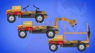 Transformex | loading truck | robotic truck | magnet truck | Halloween videos