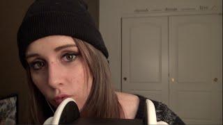 [ASMR] 3Dio Kissing Sounds (Ear Massage   Whispering   Breathing)
