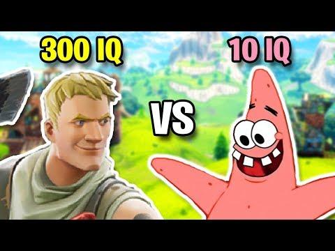 300 IQ VS 10 IQ 2 Best Fortnite Plays Predictions & Fails