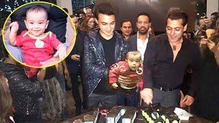 Salman Khan BEST Birthday Party 2016 With Sister Arpita's CUTE Son Aahil At Panvel Farmhouse