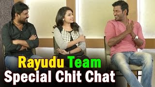 Rayudu Movie Team Special Interview | Vishal | Sri Divya | Radha Ravi | NTV