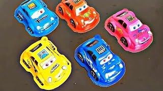 Learn Colours with Cars Open Surprise Toys Finger Family Song Nursery Rhymes