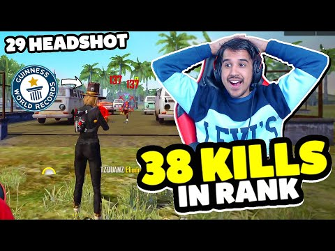 Saste Nashe in Free Fire 38 Kills 29 Headshot Desi Gamers