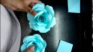 How to make realistic and easy paper roses (complete tutorial)