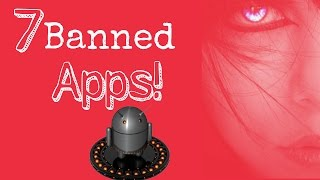 Top 7 Banned Apps which is not available in Playstore!!
