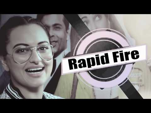 Sonakshi Sinha's Most HONEST Rapid Fire | Shahid | Ranveer | K Jo | Sonam | Jacqueline | Deepika