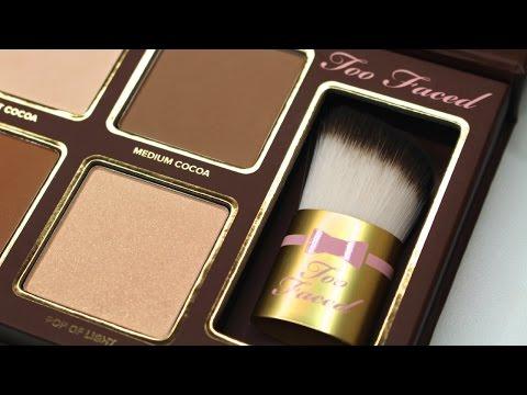 Too Faced Cocoa Contour Palette Review, Demo, & Comparison | Bailey B.