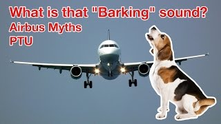 MYSTERIOUS BARKING SOUND on AIRBUS? All about the PTU explained by
