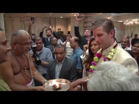 Xxx Mp4 Donald Trumps Son Eric Trump Visits A Hindu Mandir In Orlando 3gp Sex