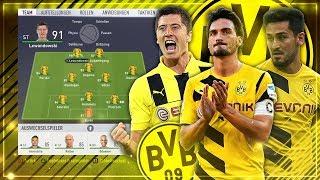 KÖNNTE DER BVB OHNE ABGÄNGE DIE CL GEWINNEN!?? 🧐🏆🔥 - FIFA 18 Experiment #9
