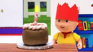 Funny Animated cartoons Kids | Birthday Cake! | WATCH ONLINE | Caillou Stop Motion