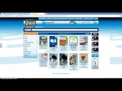 Destiny Quest/Library Card Catelog