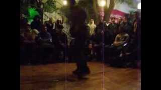 Bboy Padoo (R4M) VS Bboy Sisqo (Breakordie)-Toprock and Footwork Contest 2013 MÁLAGA