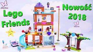 Lego Friends 41340 Dom Przyjaźni 🏠 Nowość 2018 🏠 Budowanie Recenzja Zabawa Openbox po polsku