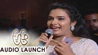 Hari Teja Speech About Movie at A Aa Audio Launch    Nithiin, Samantha, Trivikram