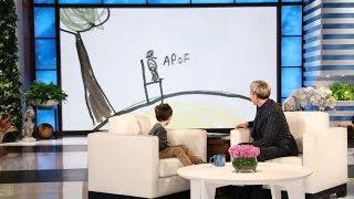 Ellen Helps Make Kid Expert Nate Seltzer
