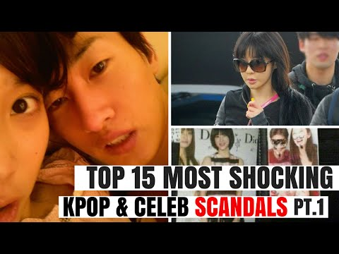 Xxx Mp4 Top 15 Most SHOCKING Kpop Korean Celebrity SCANDALS Of All Time Pt 1 HOT TOPIC 3gp Sex