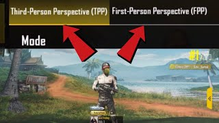 PUBG Mobile: How to Switch to First Person / Third Person View (FPP/TPP)
