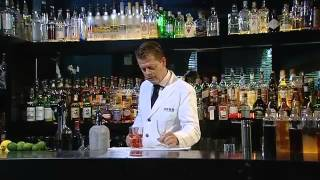 The Art Of Making Cocktails - Dubonnet coctail