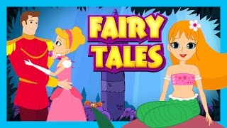 Fairy Tales For Kids - Jack and Beanstalk, The Little Mermaid and Cinderella || Kids Stories