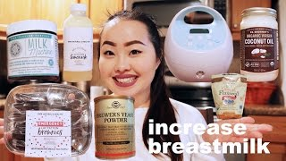 Products that Increase Breast Milk Supply