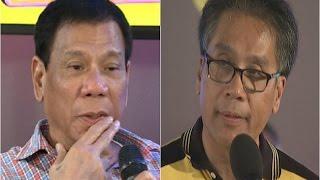 Duterte, sinabing babaero si Roxas