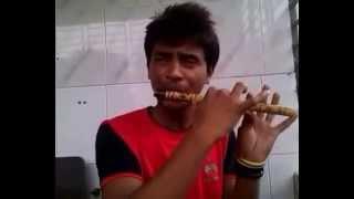 Amar Sonar moynar Pakhii (আমার সোনার ময়নার পাখি) Flute Music