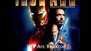 17   Arc Reaktor Iron Man Original Soundtrack